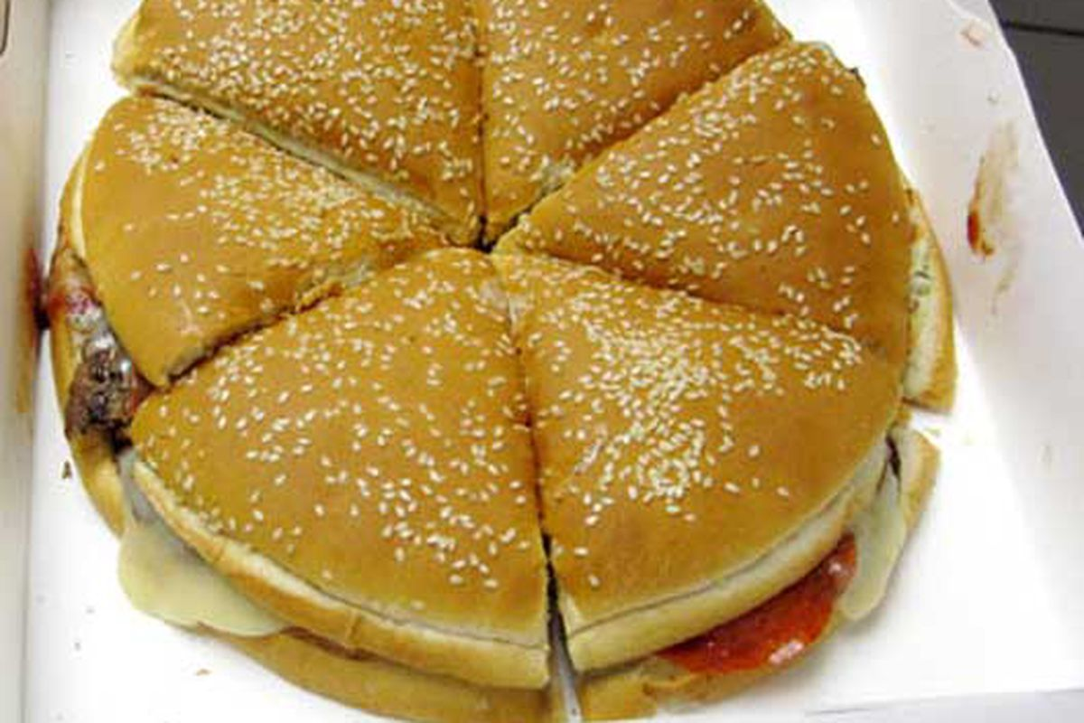 Burger King Pizza Burger