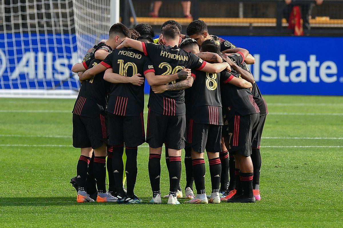 SOCCER: APR 13 CONCACAF Champions League - LD Alajuelense at Atlanta United