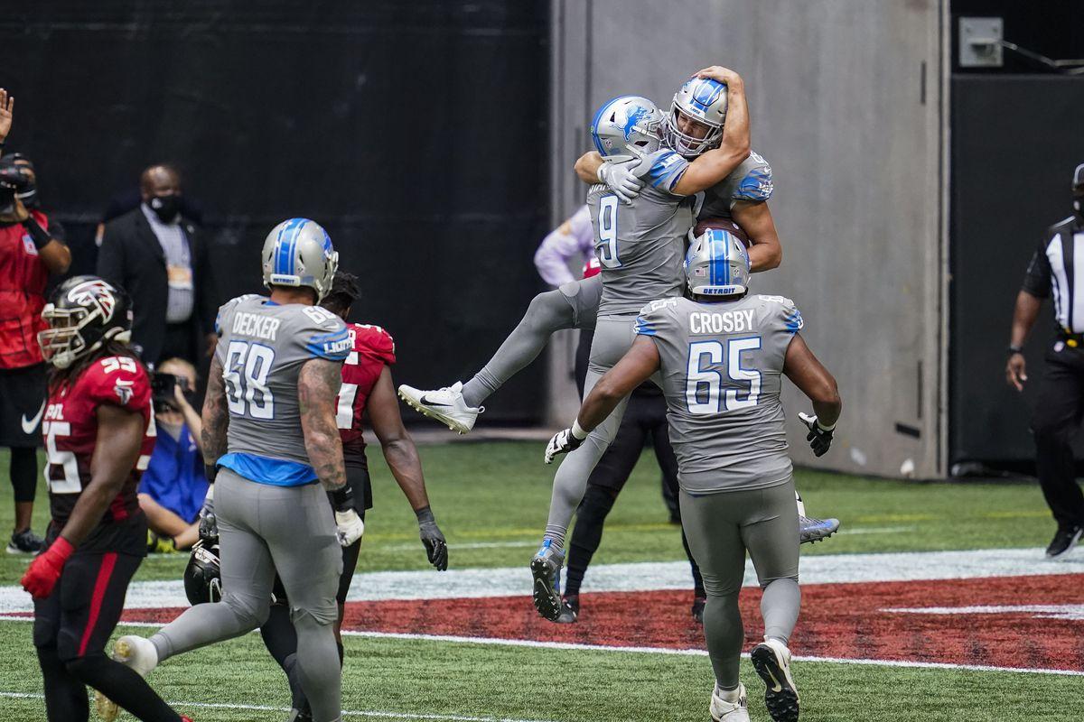 NFL: Detroit Lions at Atlanta Falcons