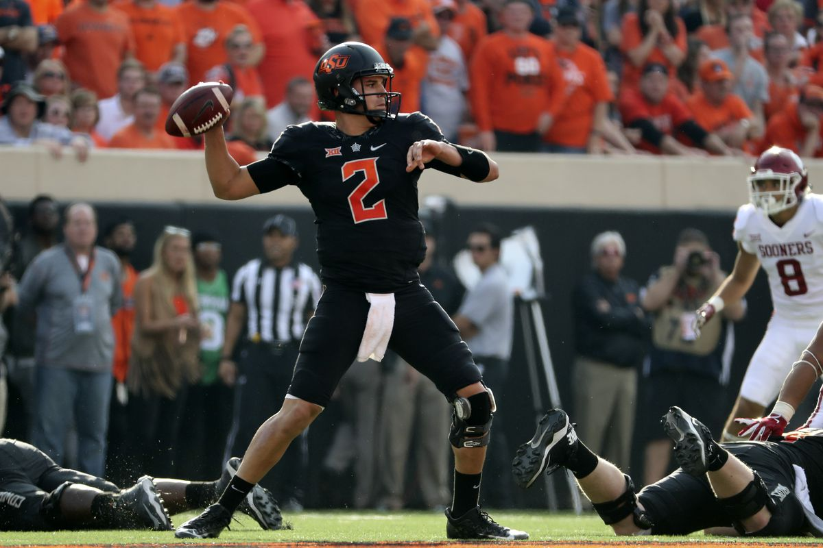 Oklahoma State Qb Mason Rudolph Talks About His Comparison To Ben Roethlisberger Behind The Steel Curtain