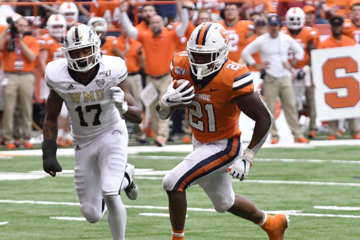 NCAA Football: Western Michigan at Syracuse