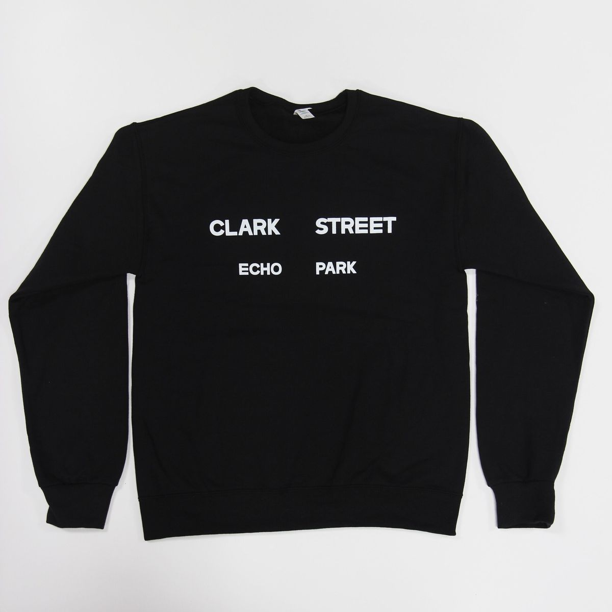 Clark Street Bread pullover sweatshirt.