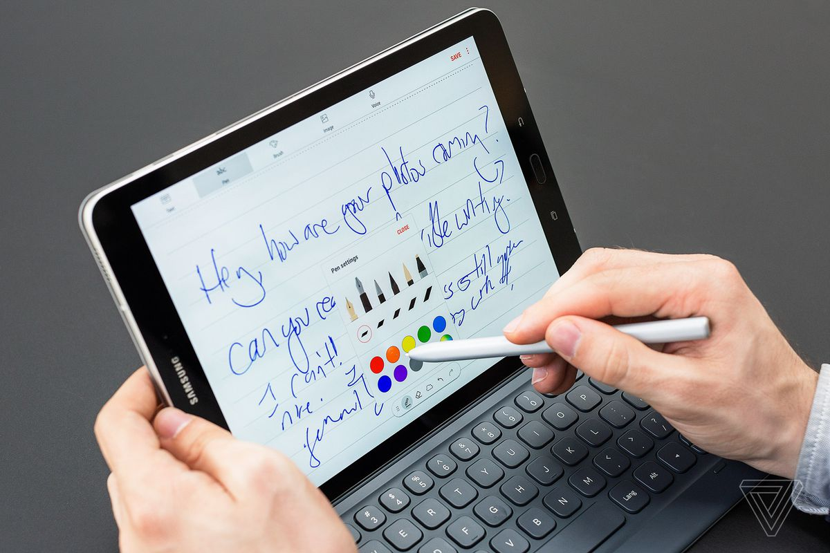 Samsung galaxy tab s review android s best foe to the ipad pro