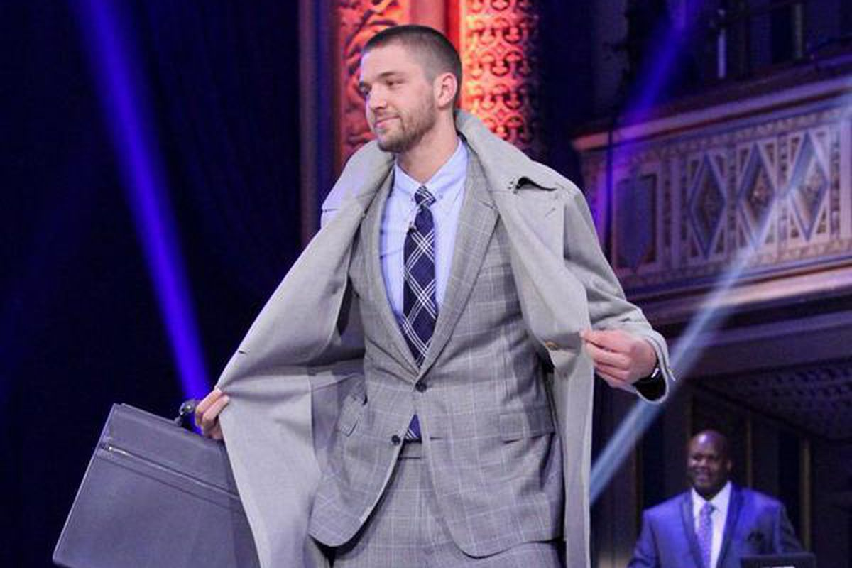 We Watched Chandler Parsons In The Nba Fashion Show So You Didn 39 T Have To Mavs Moneyball