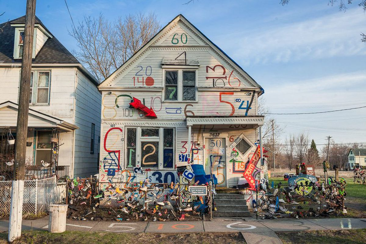 the heidelberg project Detroit—the heidelberg project, the iconic outdoor art installations on detroit's  east side for three decades, will be dismantled over the next two.