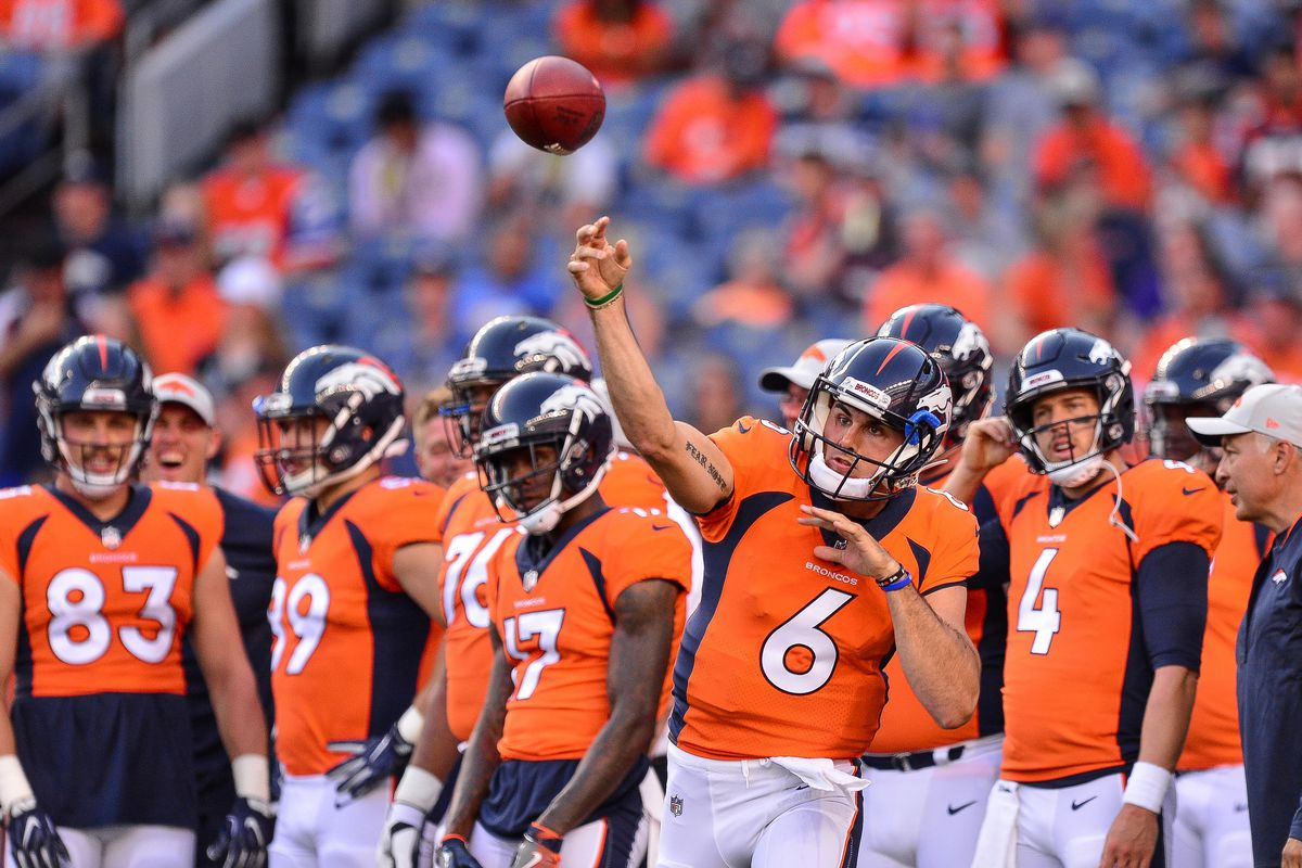 5a3aa67da810 Denver Broncos start preseason with more questions than answers ...