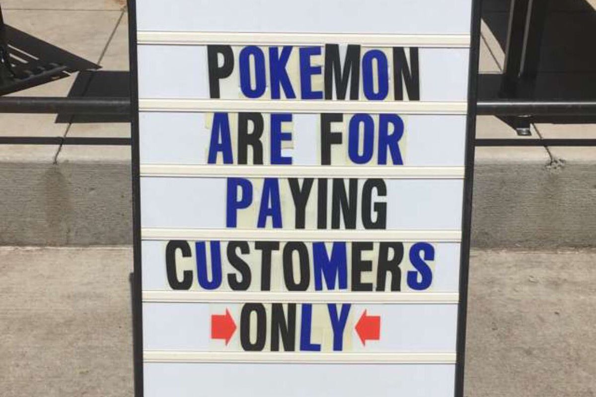 Pokemon Go Has Invaded Forever 21, Sephora, and Every Mall