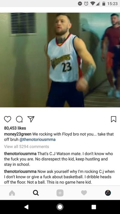 community news, Conor McGregor and Draymond Green engage in epic trash talk over Golden State Warriors NBA jersey