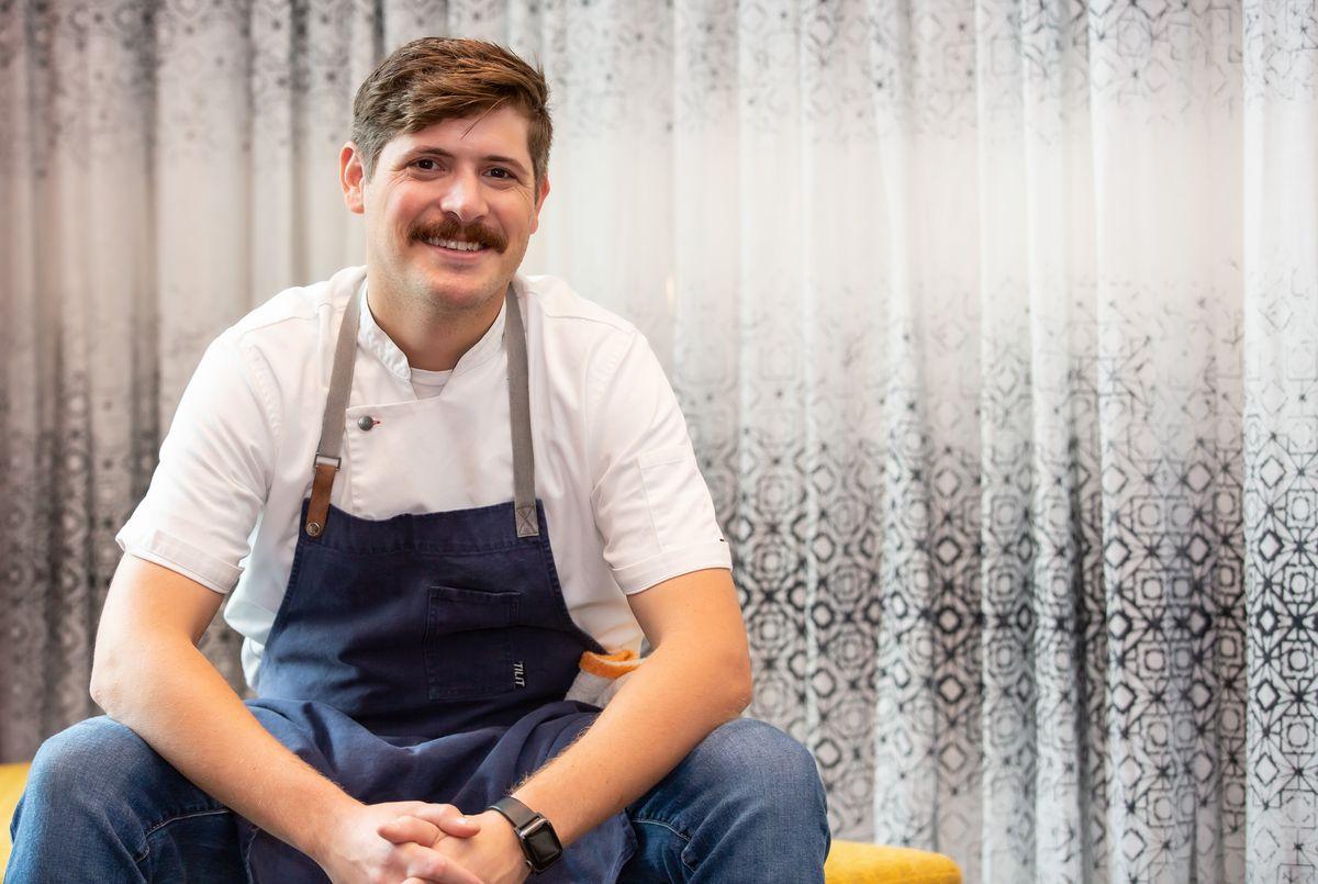 Chef Brian Hendrickson of Lucian Books and Wine in Atlanta