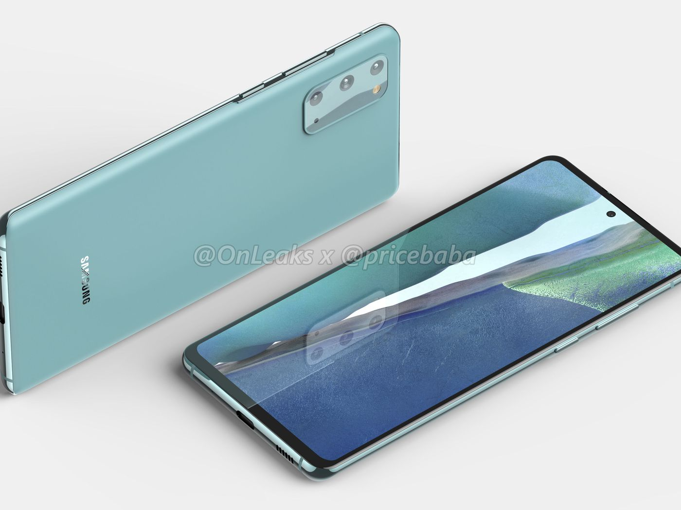 More Affordable Samsung Galaxy S20 Fan Edition Emerges In Leaked Renders The Verge