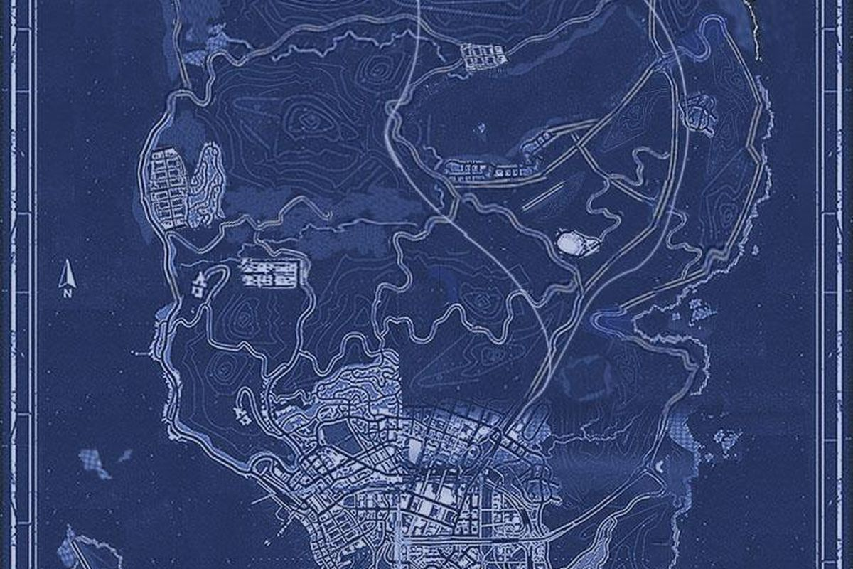 Fans Of The Grand Theft Auto Series Have Pieced Together A Game World Map Of The Upcoming Grand Theft Auto  Based On Images Previously Released By