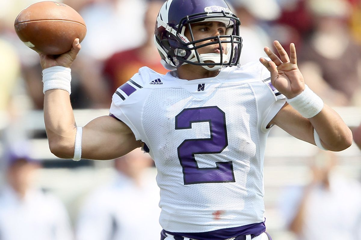 Northwestern quarterback Kain Colter filled in admirably for Dan Persa in a road victory over Boston College.