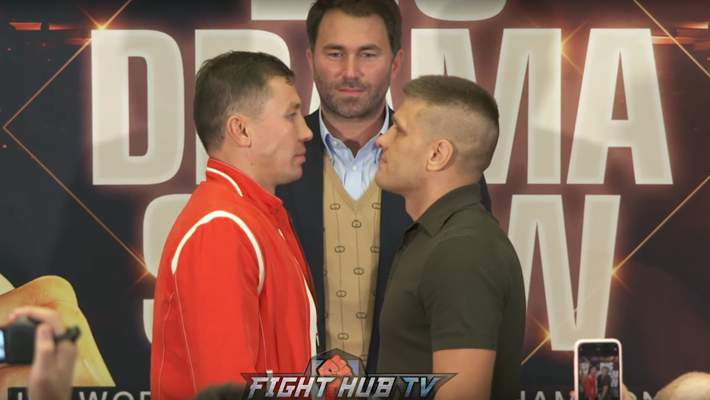 Gennadiy Golovkin vs Sergiy Derevyanchenko: Opening Press Conference