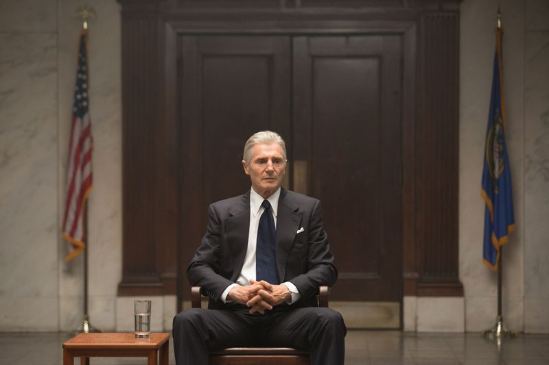 Liam Neeson in Mark Felt: The Man Who Brought Down the White House