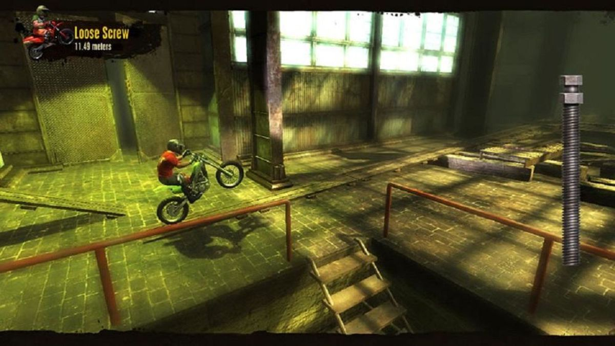 Trials HD - warehouse track