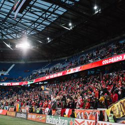 Not a big crowd, but a happy one: RBNY beat Colorado Rapids, 1-0