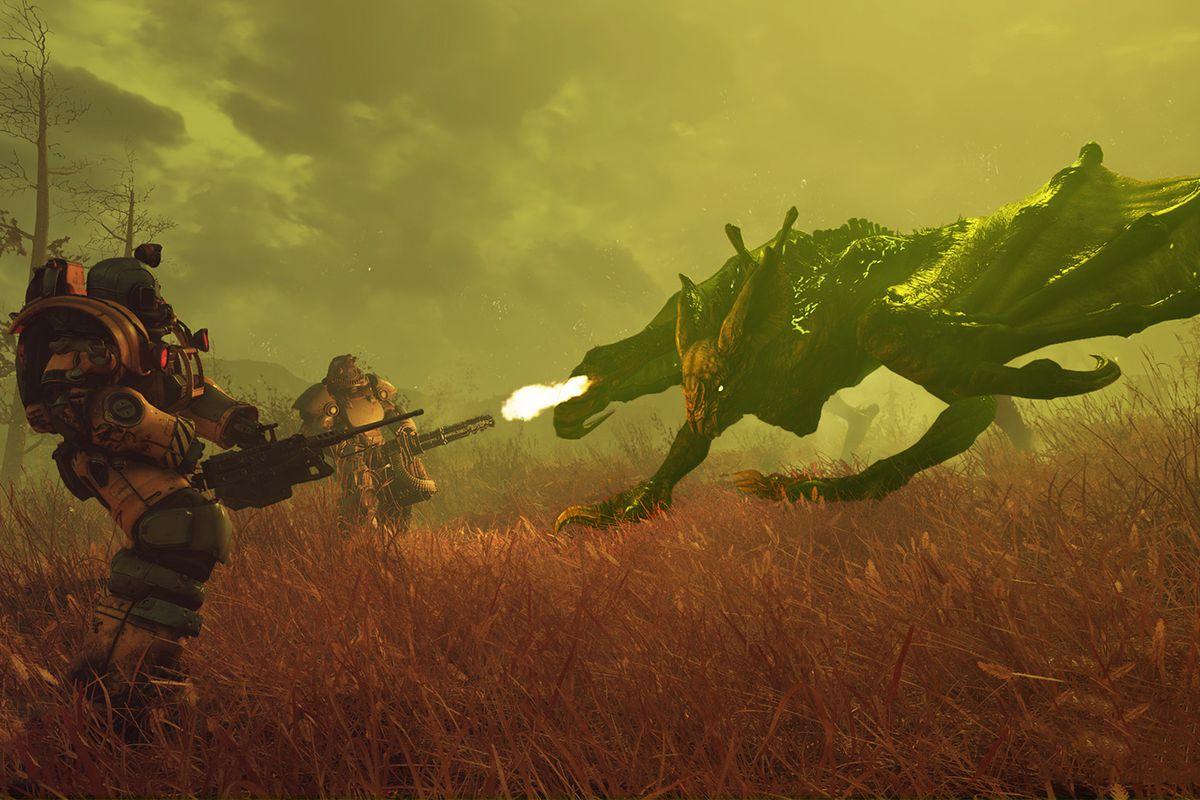 Scorchbeast tweaks for Fallout 76's next patch inspire little
