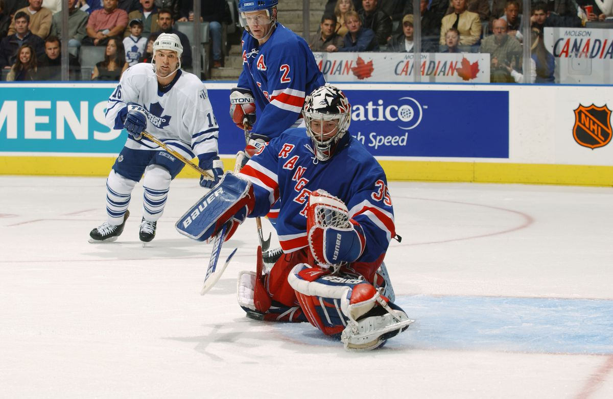Rangers v Maple Leafs