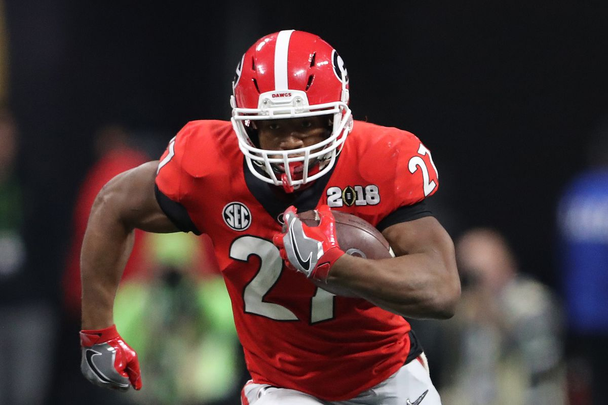 half off a6eef ac87f 2018 NFL Draft: Why the Browns picked RB Nick Chubb ...