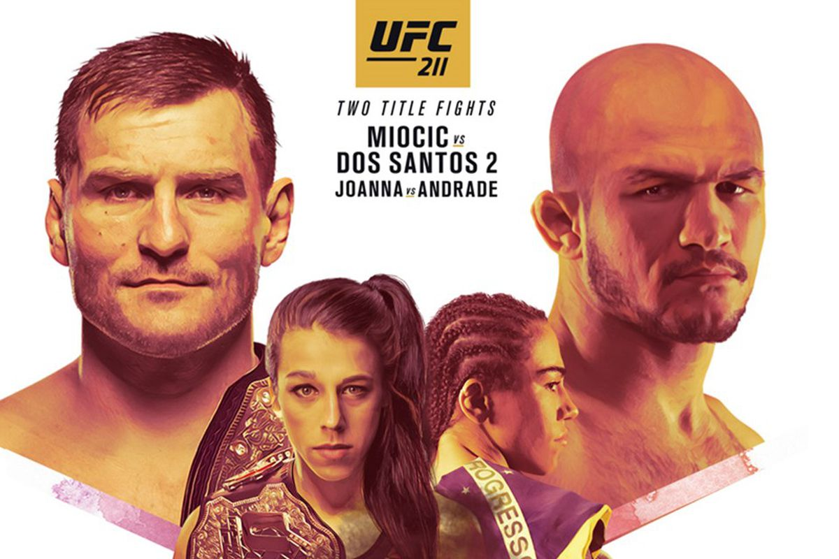 UFC 211: Miocic vs. Dos Santos...