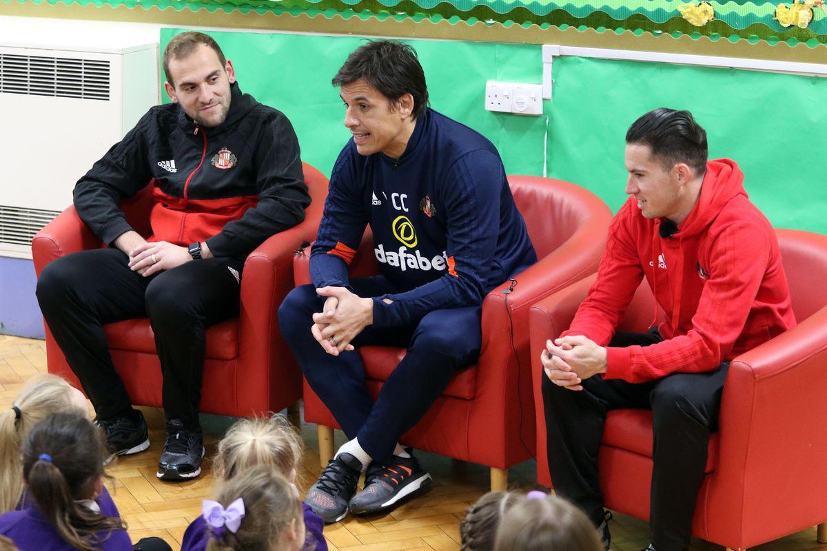 "Sunderland Staff Deliver a Gift for the ""For Bradley"" Campaign"