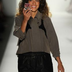 Man Repeller at Rebecca Minkoff. Photo credit: Getty Images