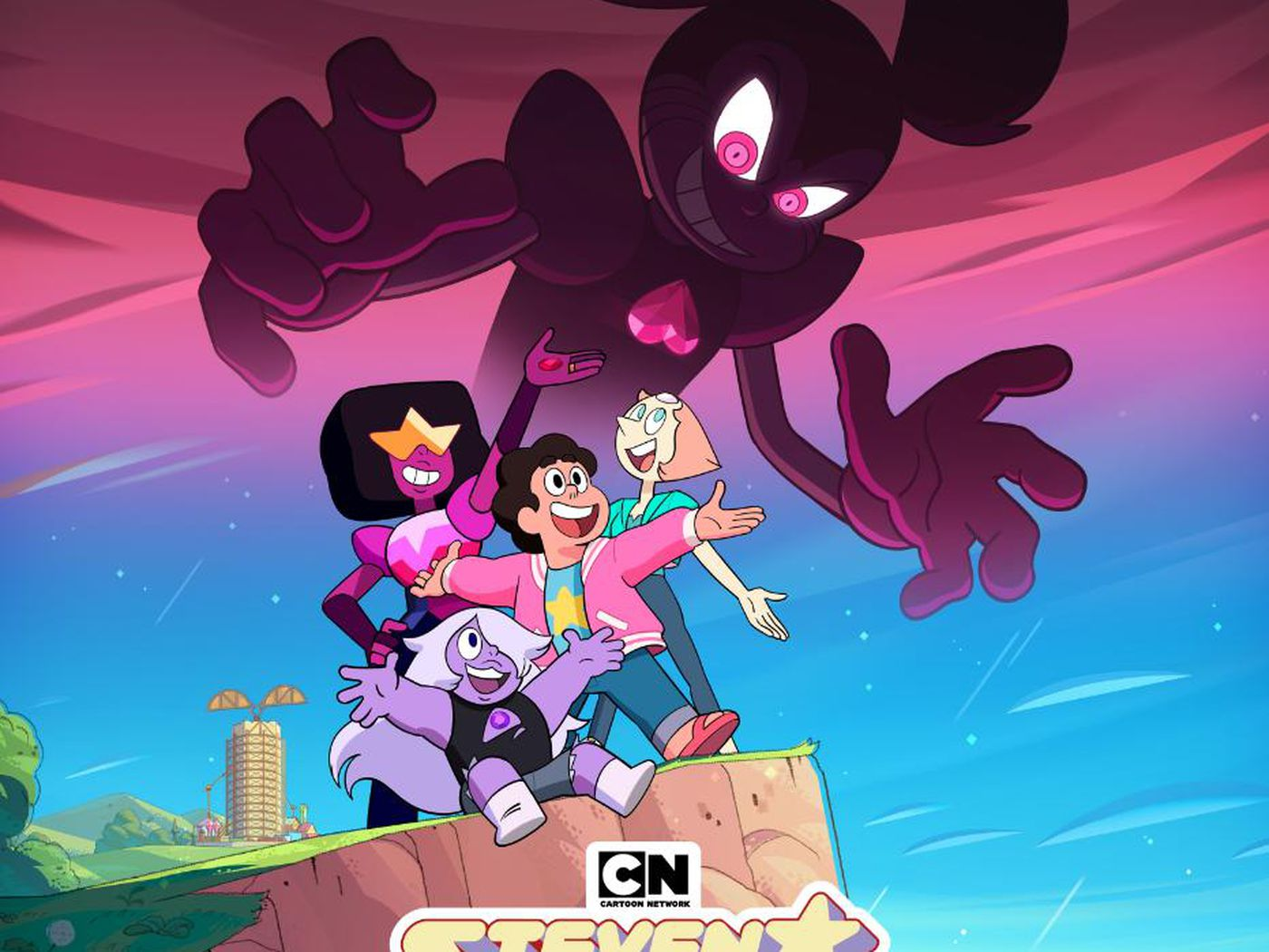 Steven Universe movie poster reveals giant, heart-themed