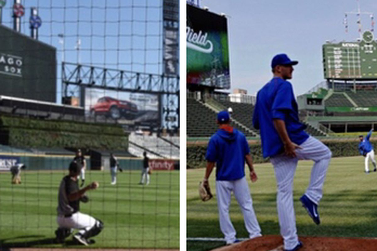 The Cubs and White Sox expect to be working out at their home ballparks by July 1 in preparation for a shortened season.