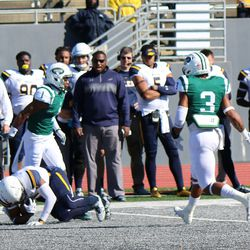 A Toledo receiver after the catch