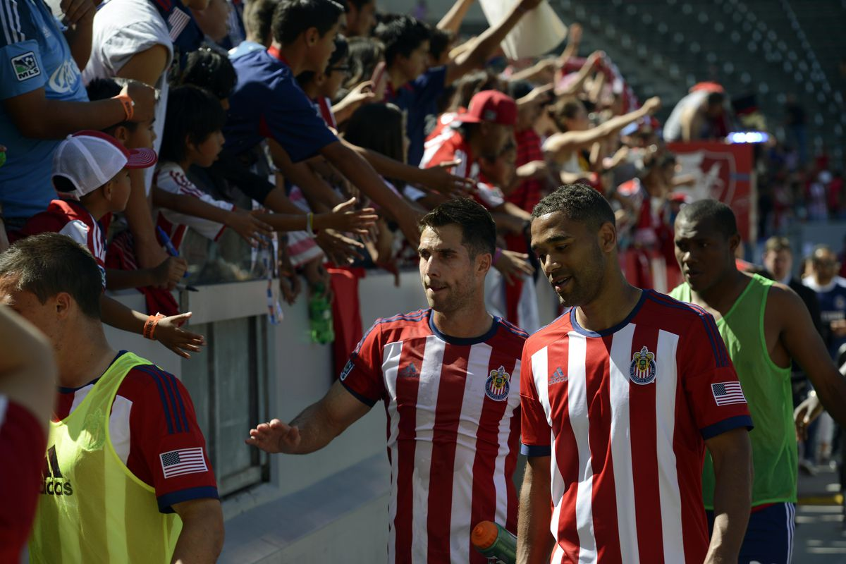 There are literally more than four Chivas USA fans in this picture alone.