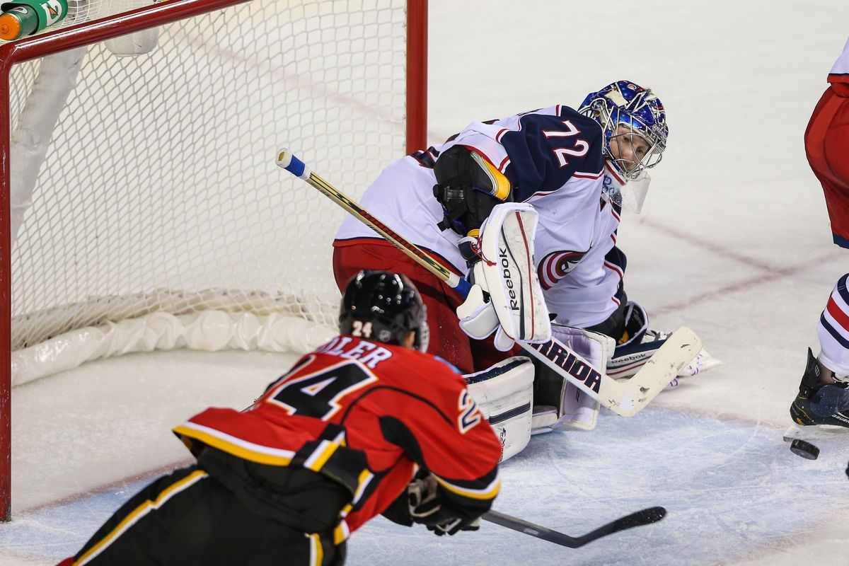 Bobrovsky is someone who has really helped out the Jackets.