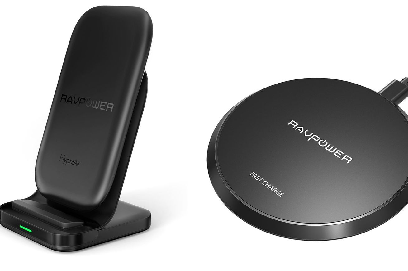 ravpower wireless chargers are at their lowest price ever with amazon s deal of the day