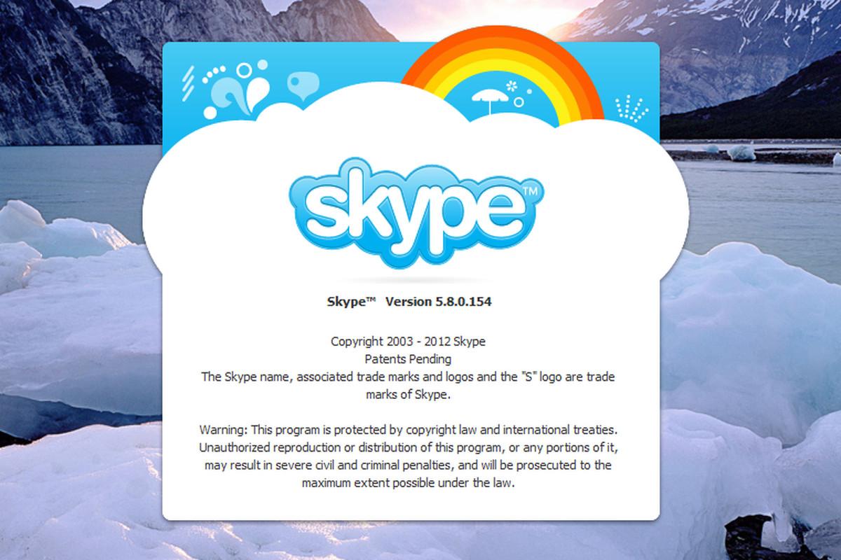 Skype For Windows 5.8