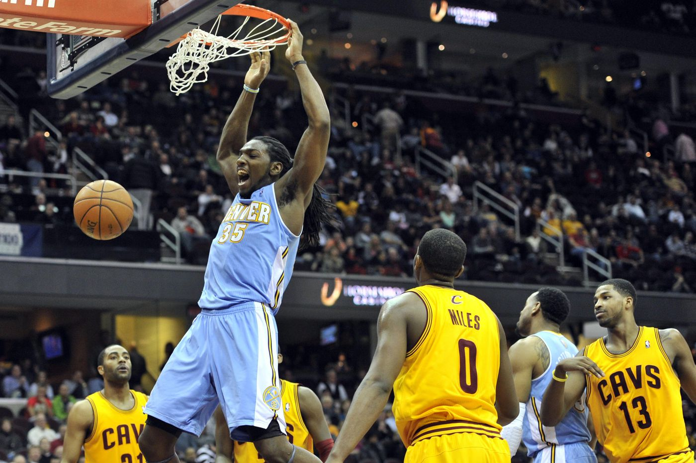 b474f5701 Cleveland Cavaliers vs. Denver Nuggets  Emailing with Denver Stiffs ...