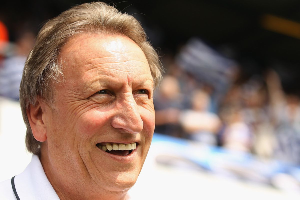 Neil Warnock has said Leeds United won't make the play-offs and need to focus on next season. (Photo by Ian Walton/Getty Images)