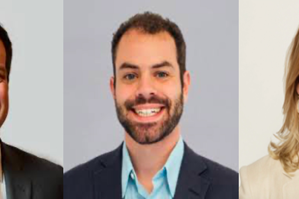 From left: Gillum Ferguson, Charlie Bufalino, and Chelsea Crawford are joining the administration of Gov. Bill Lee this month.