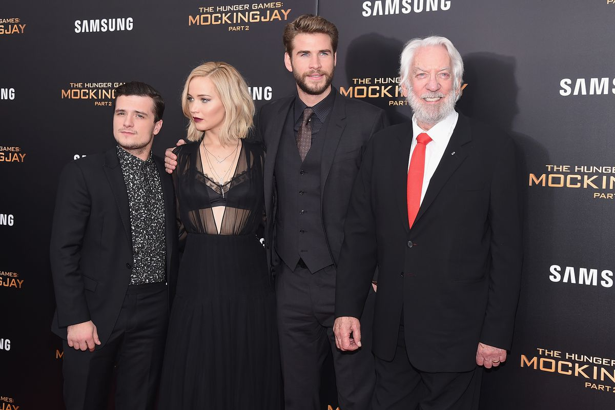 What the hell is Hutcherson wearing?