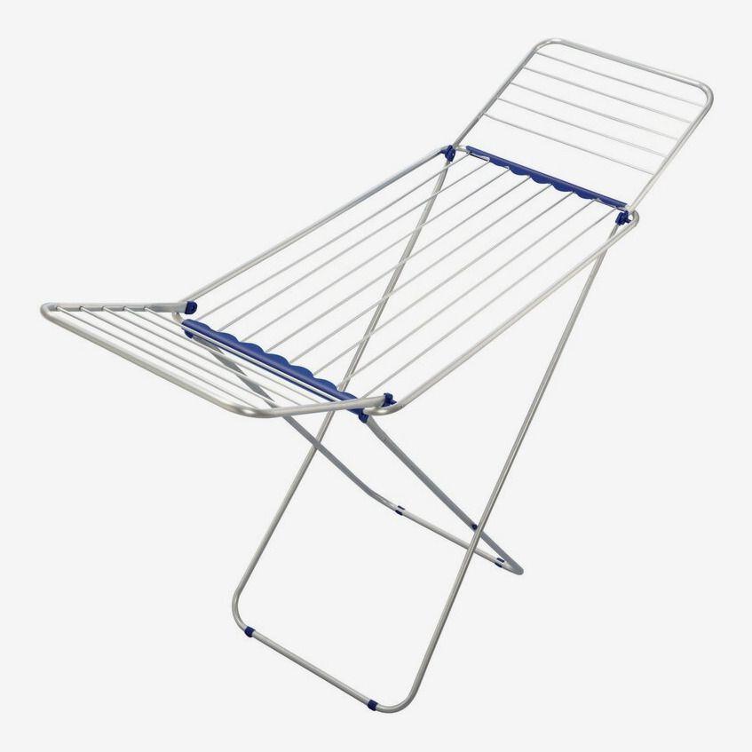 A folding rack.