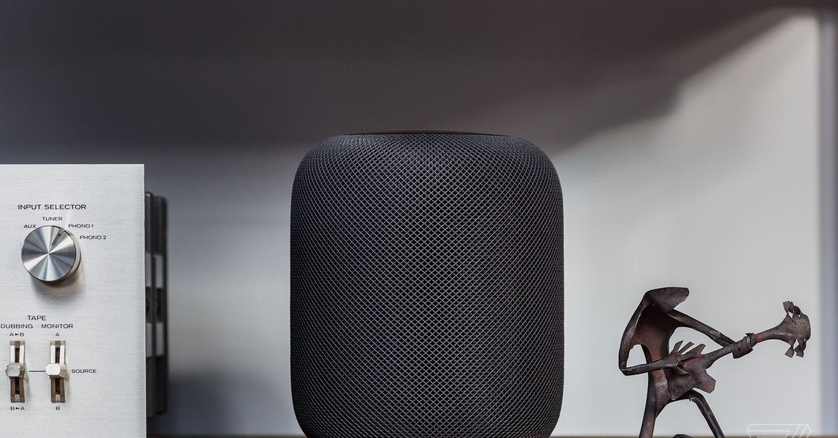 Apple's HomePod will soon support Dolby Atmos with the Apple TV 4K – The Verge