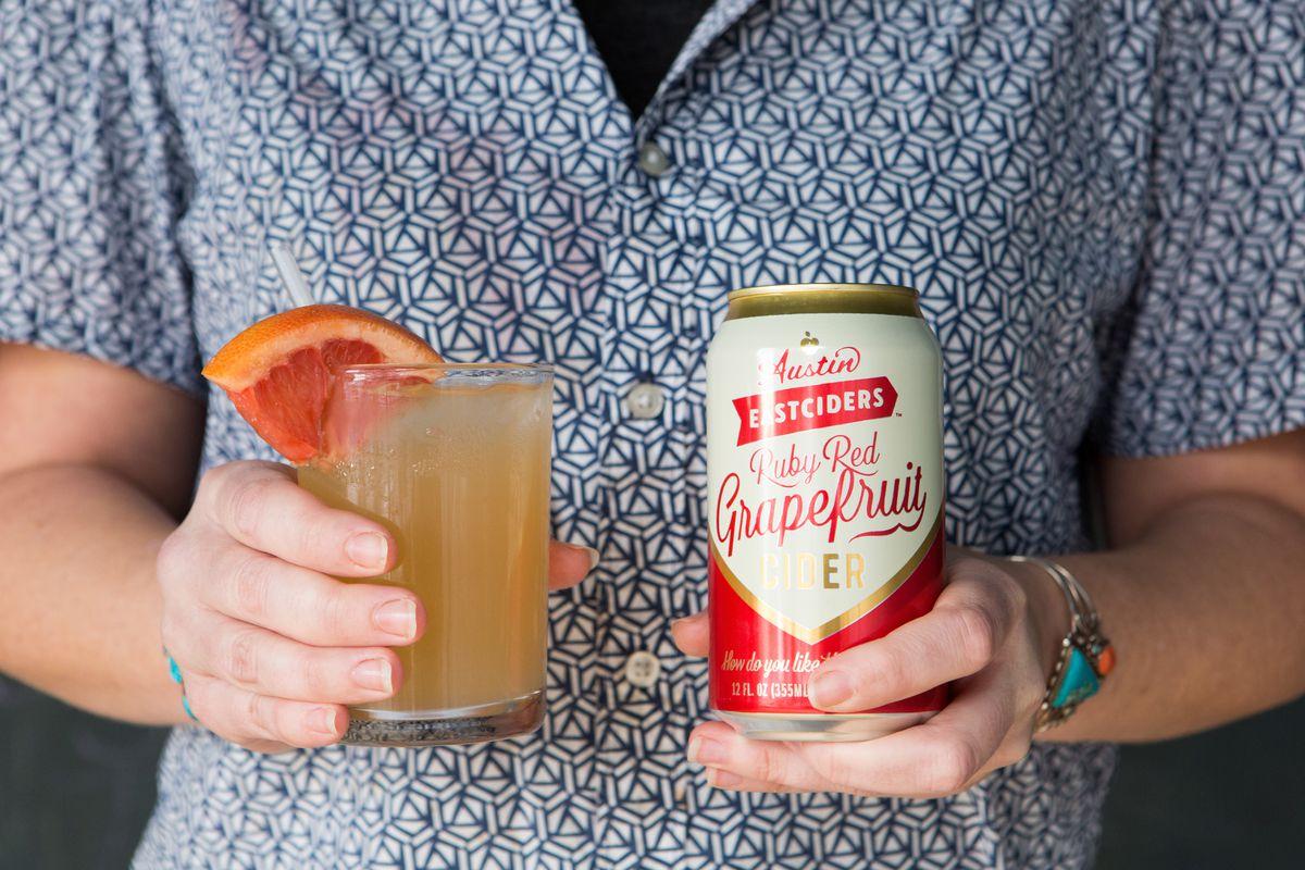 Austin Eastciders' grapefruit cider