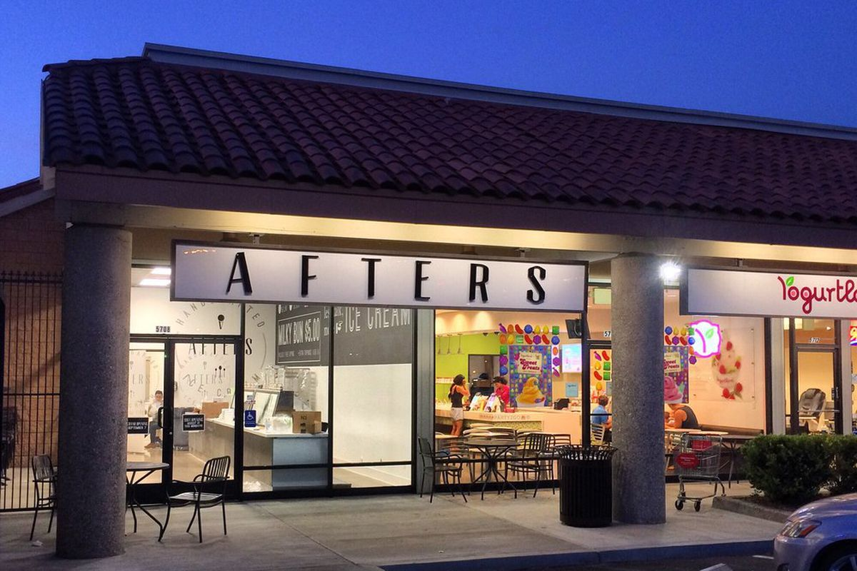 Afters Ice Cream Long Beach