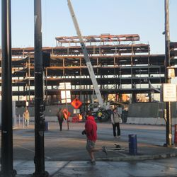 7:50 a.m. Plaza building, from Clark & Addison -