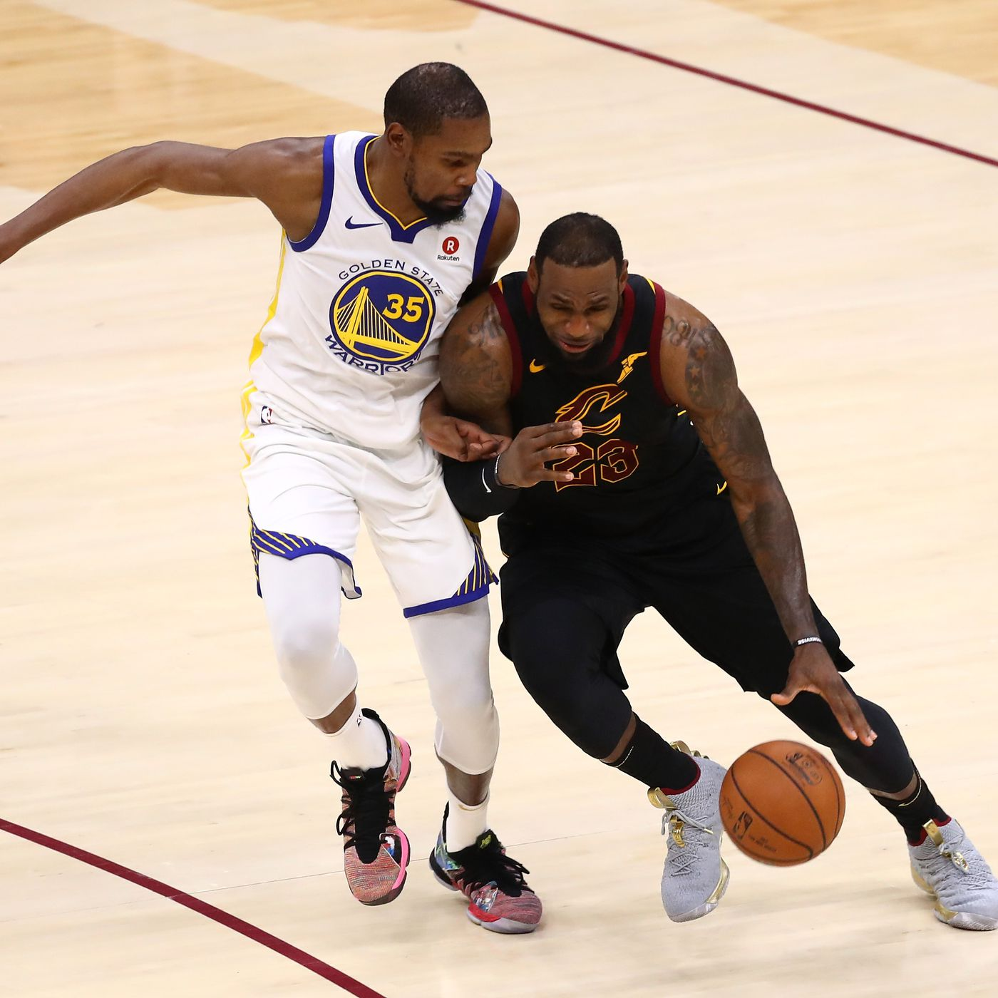 bcbd66fe6e5f NBA Rumor  LeBron James wants Kevin Durant to join him on the Lakers ...
