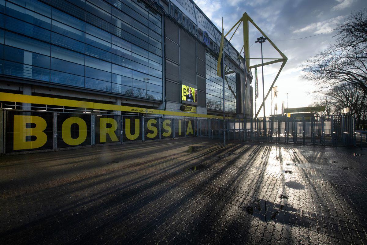 Coronavirus - Borussia Dortmund stadium