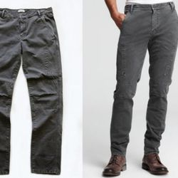 The T by Alexander Wang X Dockers pant. What a difference athletic thighs make, right?