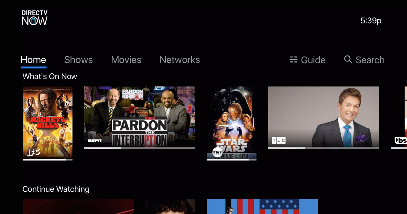 how to download directv now on smart tv lg