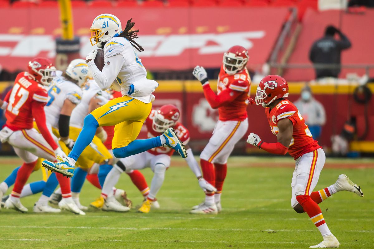 NFL: JAN 03 Chargers at Chiefs