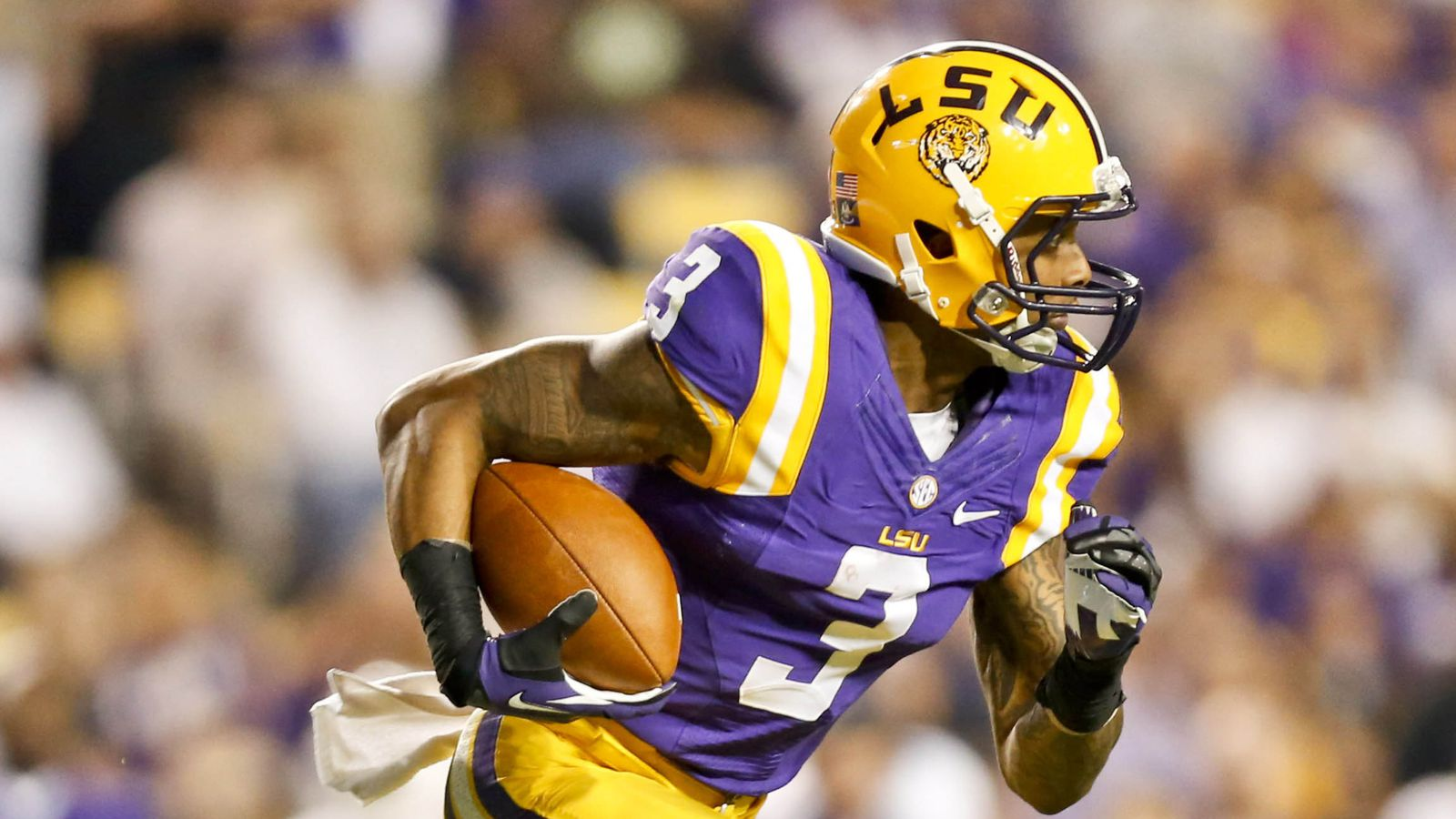 2014 Nfl Draft Prospects Lsu Wr Odell Beckham Shows He S One Of