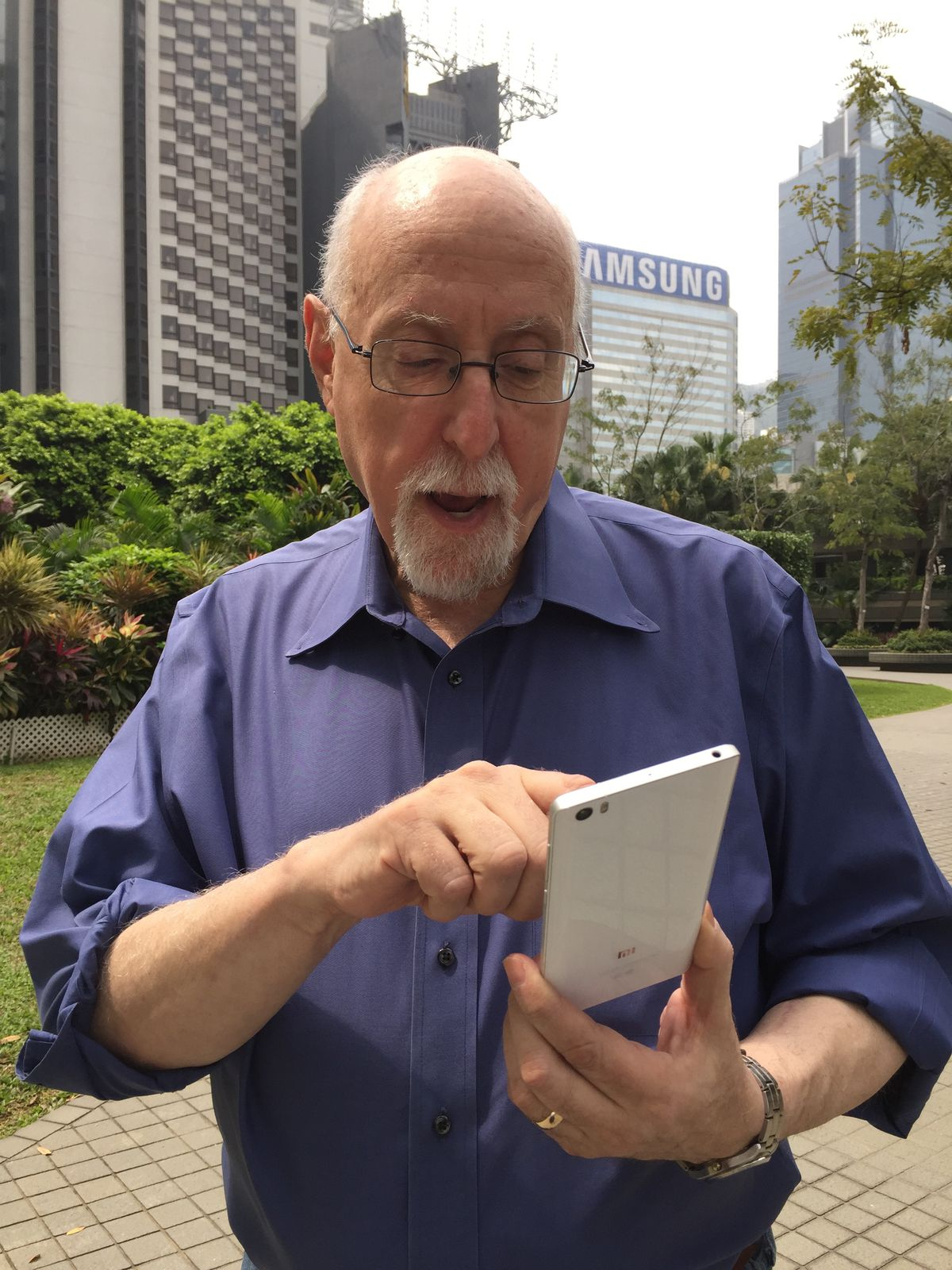 Using the Mi Note in Hong Kong