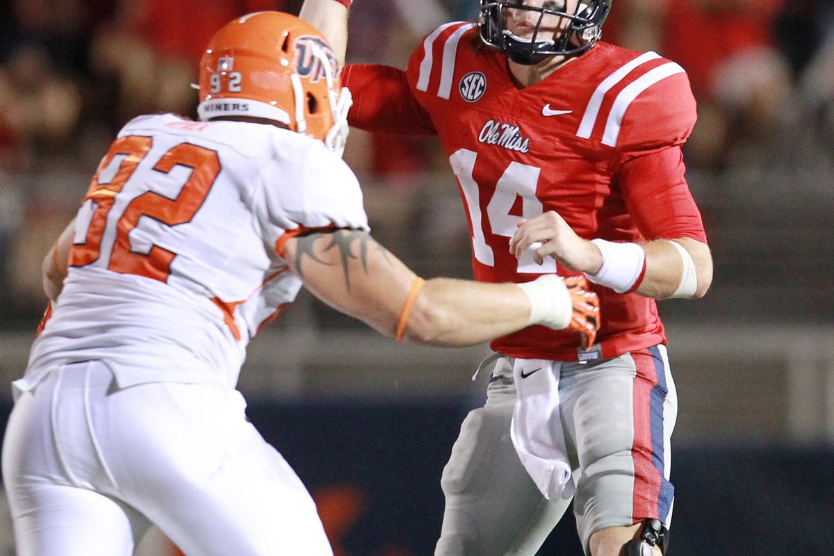 <em>Bo Wallace - the Ole Miss key to the game.</em>